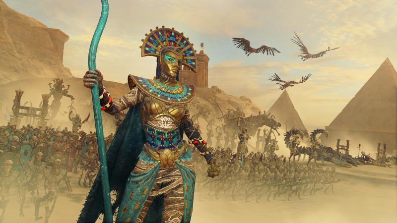 В Total War: Warhammer 2 настало время царей гробниц