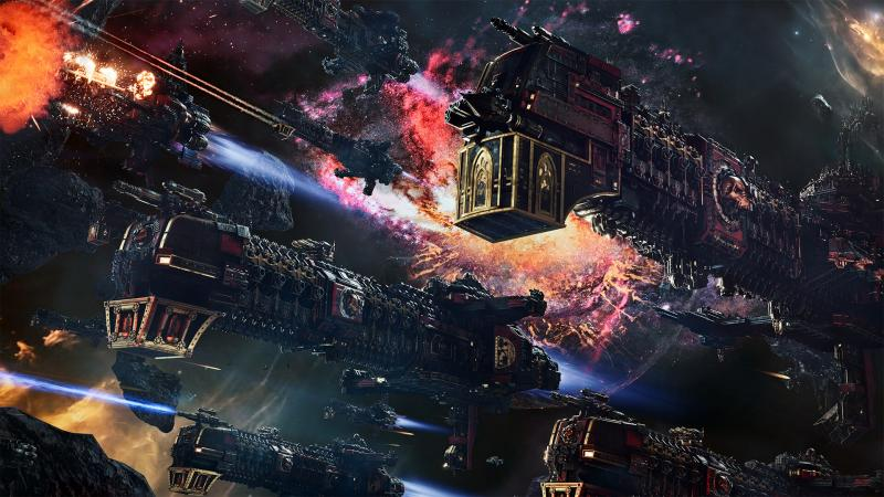 Анонсирована космическая стратегия Battlefleet Gothic: Armada 2 во вселенной Warhammer 40.000