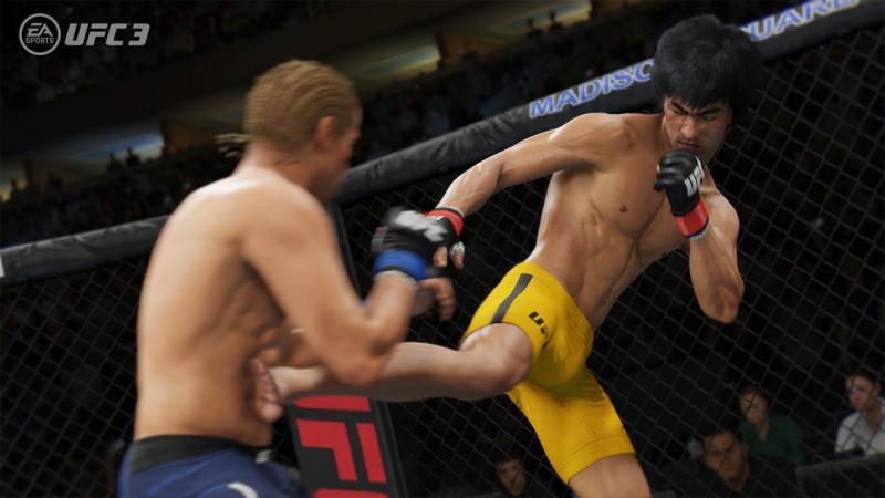 Ранне дополнение добавит в UFC 3 Брюса Ли