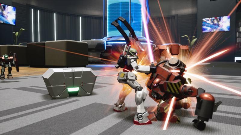 Пять минут нового геймплея New Gundam Breaker