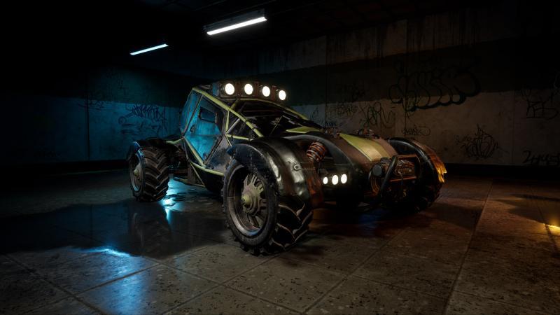 Завтра утром покажут дебютный геймплей Notmycar - гибрида PUBG и Twisted Metal