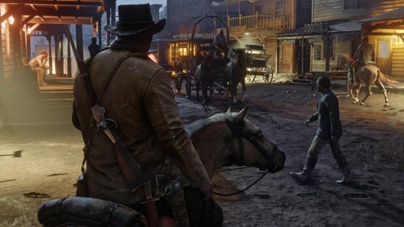 """В Red Dead Redemption 2 появится своя """"королевская битва"""""""