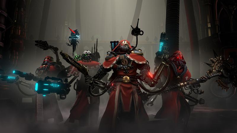 Warhammer 40,000: Mechanicus— новая тактическая пошаговая игра