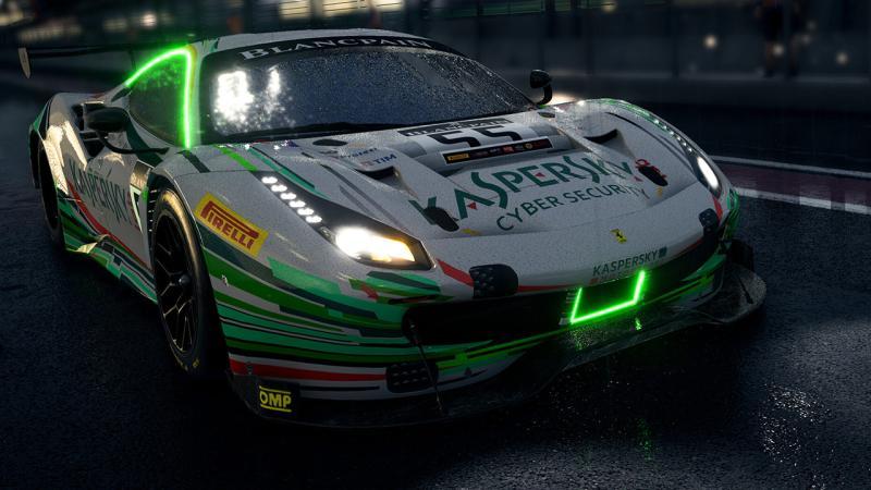 Анонсирован гоночный симулятор Assetto Corsa Competizione