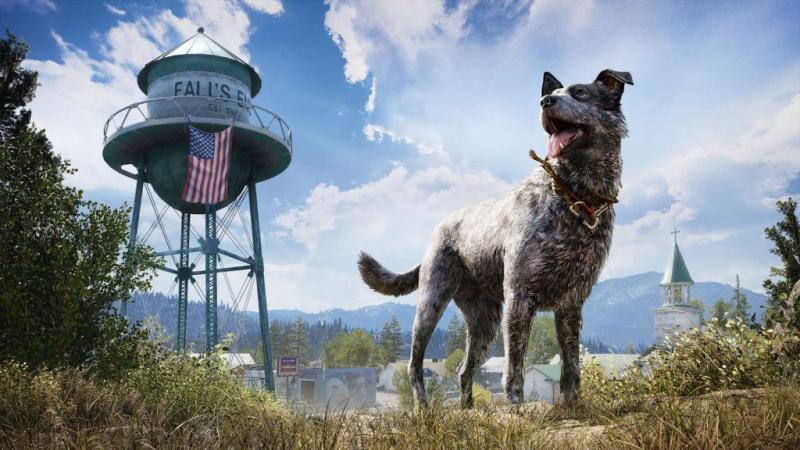 Хороший пес Бумер в новом видео Far Cry 5 от разработчиков