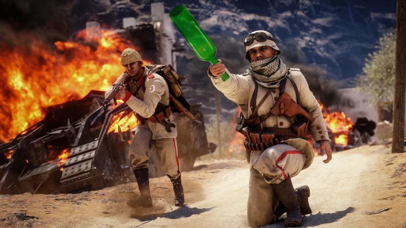В дополнении Battlefield 1: Apocalypse можно разблокировать секретное оружие ближнего боя