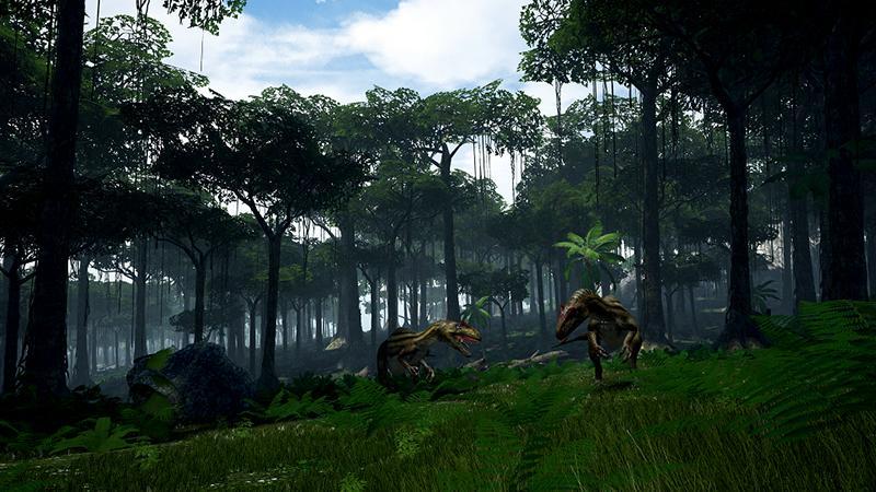 Виртуальное сафари с динозаврами Island 359 завтра выходит из раннего доступа