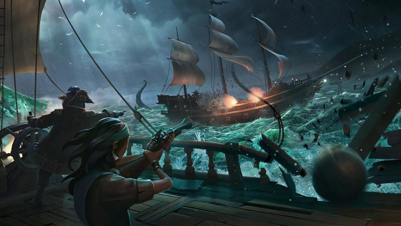 Геймплейные трансляции Sea of Thieves повысили количество предзаказов игры