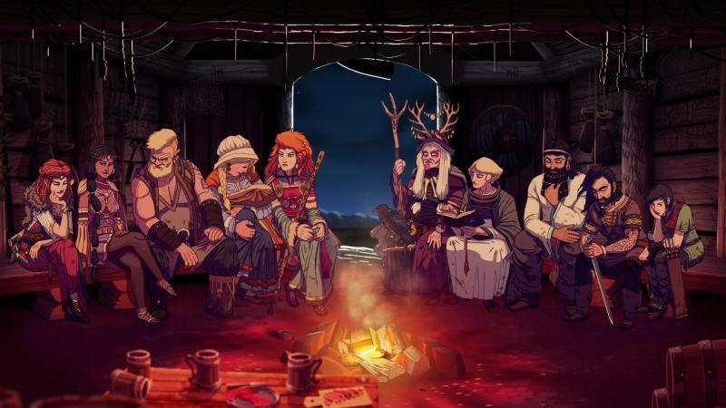 Приключенческий стратегический менеджер Dead In Vinland выйдет в начале апреля