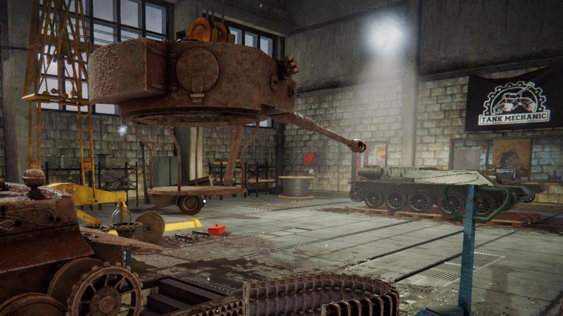 Разработчики Tank Mechanic Simulator показали уникальные технологии игры