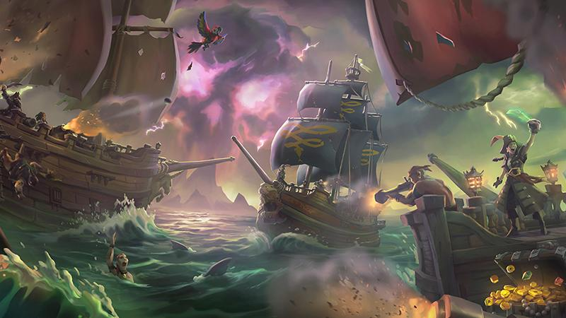 Для Sea of Thieves уже выпускают коллекционные фигурки