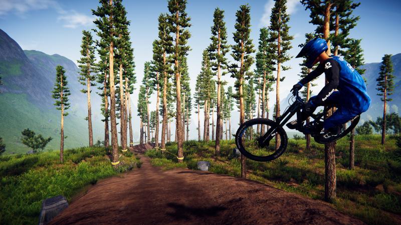 Апдейт для велосимулятора Descenders добавил режим свободного заезда