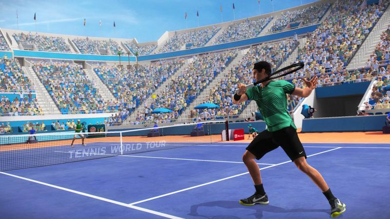 Симулятор тенниса Tennis World Tour выходит в конце мая на PC и консолях
