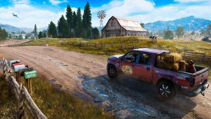 Безумие округа Хоуп в новом трейлере Far Cry 5 с живыми актерами