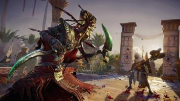 Релизный трейлер и 15 минут геймплея дополнения Curse of the Pharaohs для Assassin's Creed: Origins