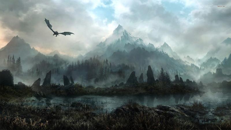 В начале апреля Skyrim VR выходит на PC