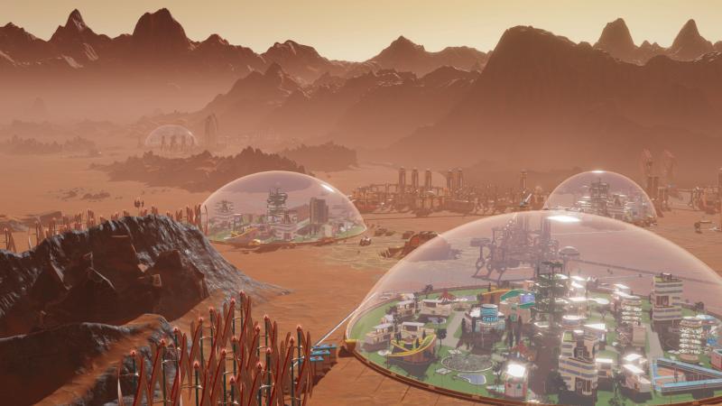 Состоялся релиз экономической стратегии Surviving Mars