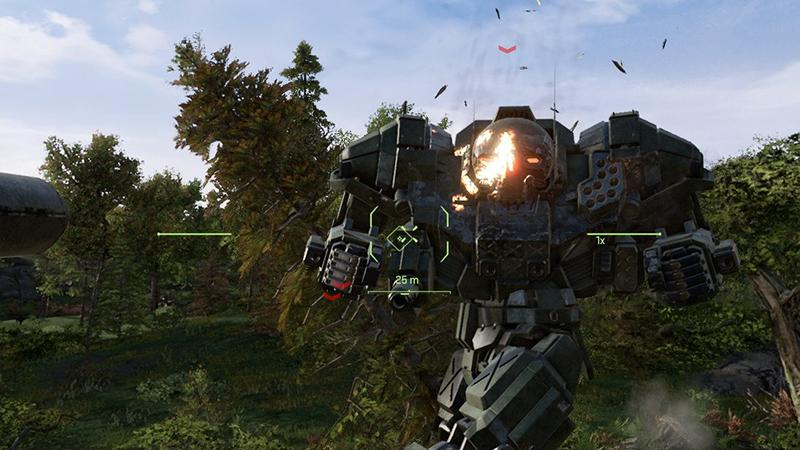 Разнообразные биомы в тизерном ролике MechWarrior 5: Mercenaries