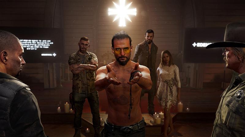 Очередной трейлер Far Cry 5 с живыми актерами