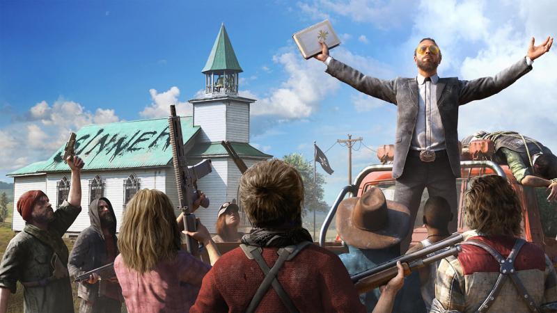 Прохождение Far Cry 5 займет порядка 25 часов и более