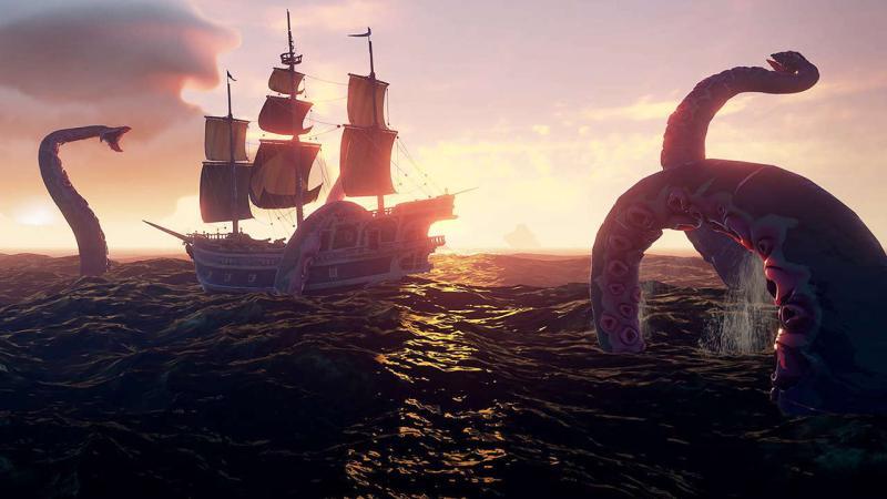 Sea of Thieves могла быть посвящена вампирам или динозаврам вместо пиратов