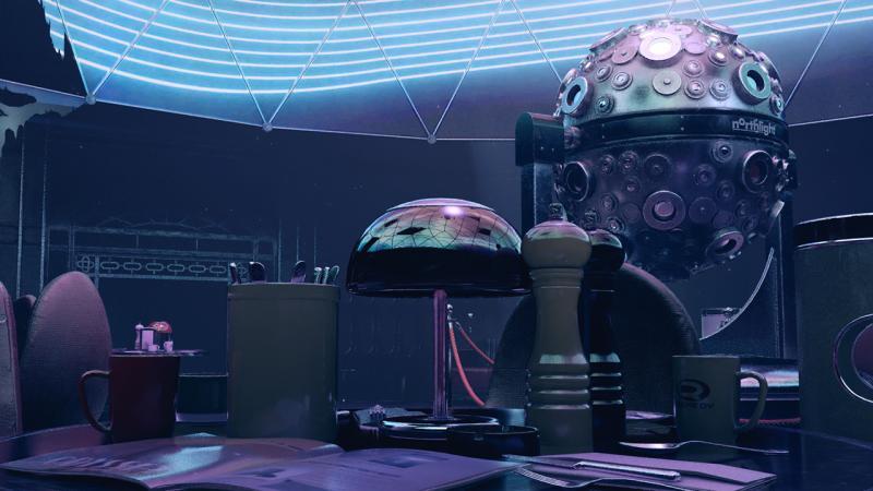 NVIDIA представит трассировку лучей вреальном времени