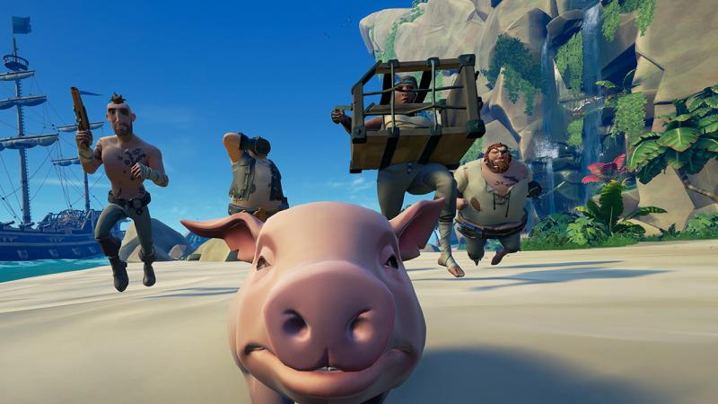 Глава Xbox встал на защиту Sea of Thieves
