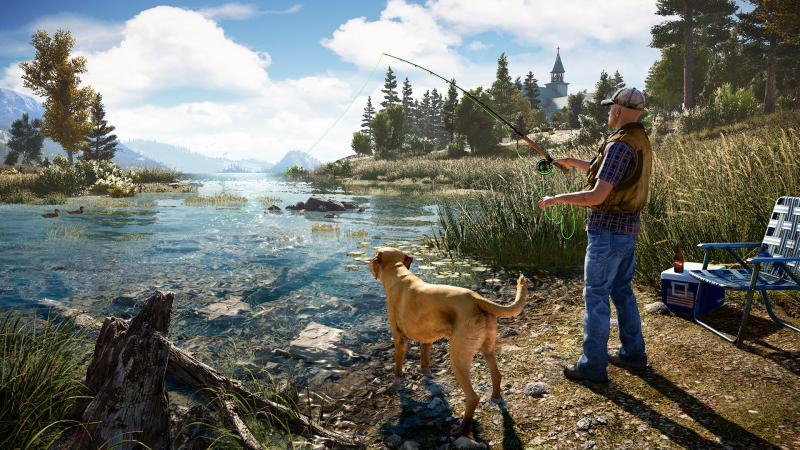 Отдыхаем от вышек в стриме Far Cry 5