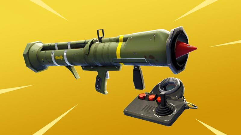 В Fortnite: Battle Royale скоро появится управляемая ракетница