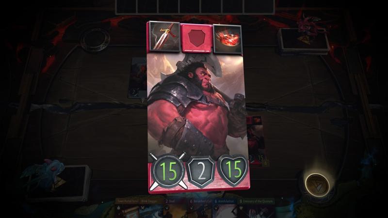 Новый геймплей карточной игры Artifact от Valve