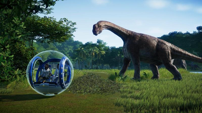 Jurassic World Evolution будет защищена технологией Denuvo