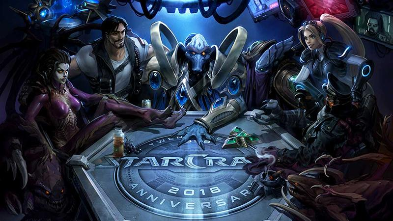 Разработчики StarCraft празднуют 20-летний юбилей стратегии