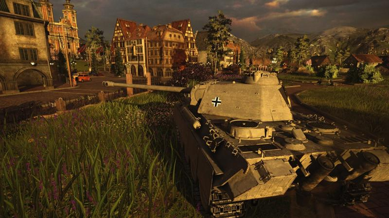 В консольной версии World of Tanks появилась сюжетная кампания с альтернативной историей
