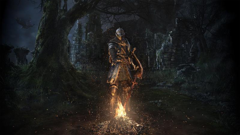Первое подземелье и босс в геймплейном ролике Dark Souls: Remastered