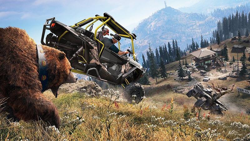 Хвалебный трейлер Far Cry 5