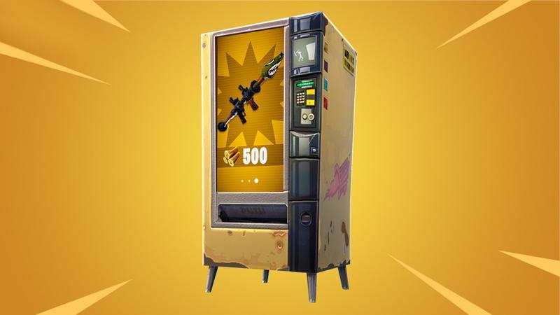 Epic добавила в Fortnite: Battle Royale торговый автомат