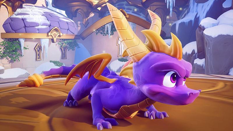 Всеть утекли первые скриншоты трилогии Spyro Reignited