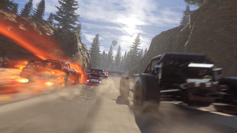 Очередной геймплейный ролик аркадного рейсинга Onrush от Codemasters