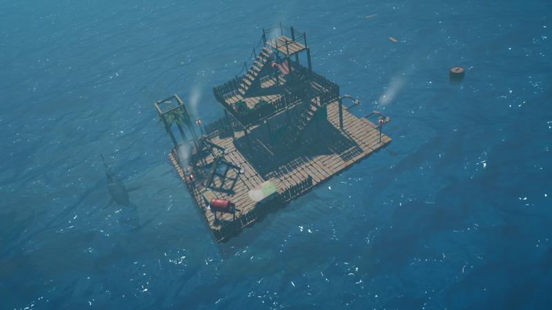 Сурвайвал-адвенчура Raft выйдет в раннем доступе Steam в мае