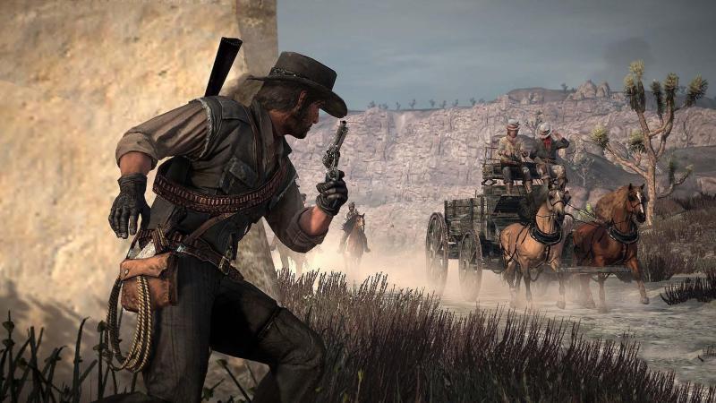 Оригинальная Red Dead Redemption превосходно смотрится на Xbox One X