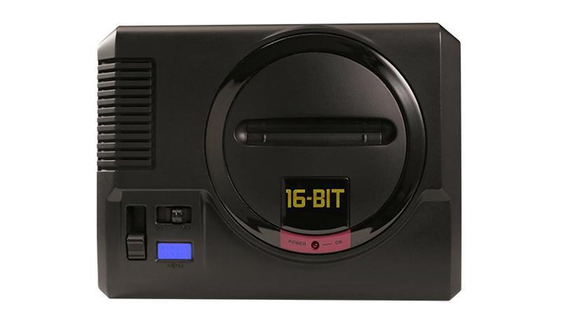 Компания Sega выпустит новейшую  мини-консоль мега  Drive Mini