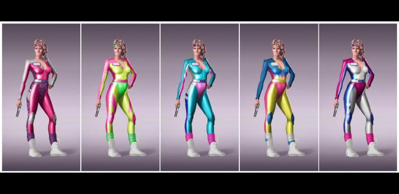 Разработчики Radical Heights показали женских персонажей