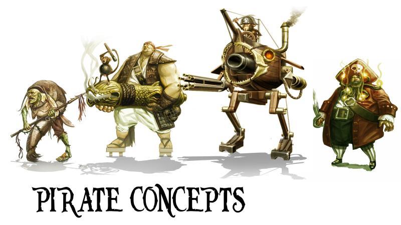 Уникальные концепции персонажей на артах отмененной TimeSplitters 4