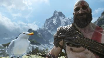 Фоторежим God of War в действии