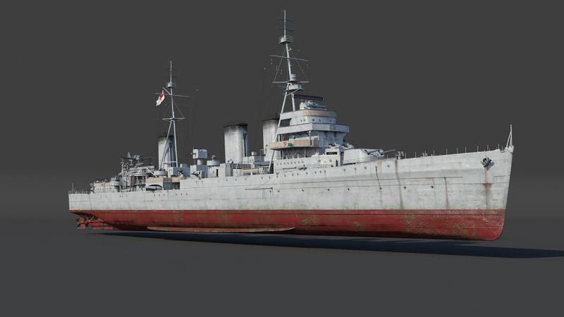 Впроцессе «морского» ЗБТ вWar Thunder приплывут первые лёгкие крейсеры
