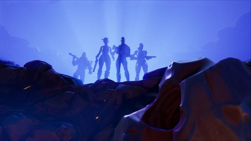 В Fortnite стартовал четвертый сезон с падением кометы