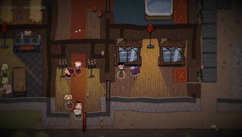 Стратегическая игра MachiaVillain об особонячке ужасов выходит через две недели