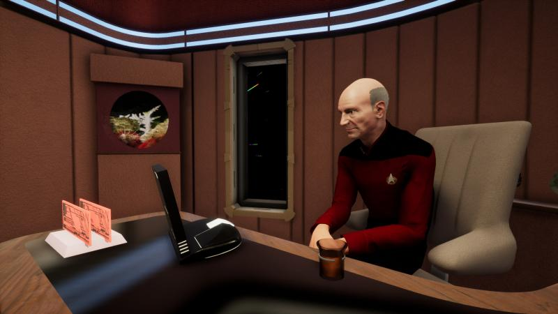 Фанаты воссоздали сцены из Star Trek: The Next Generation на Unreal Engine 4