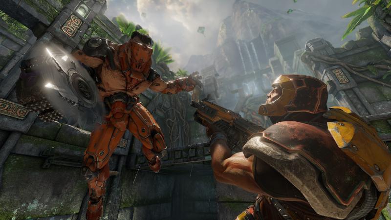 В Quake Champions скоро появятся боты