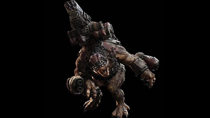 Разработчики Gears of War хотели бы увидеть монстра Брумака в Monster Hunter: World